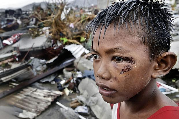 Philippine hurricane victims