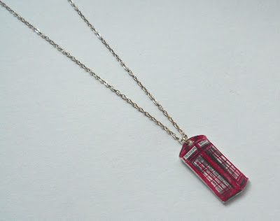 Jewellery by Jaymie phonebox necklace