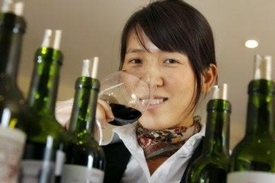 consommateurs chinois de vin