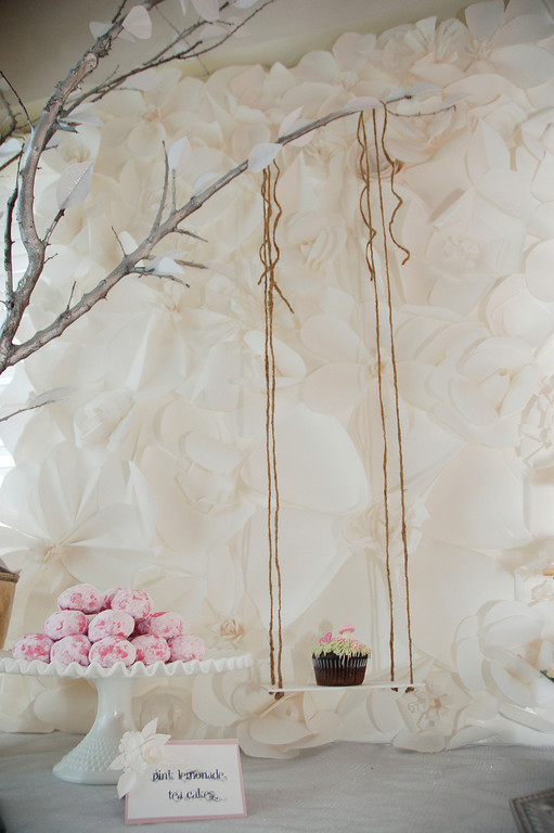 How To Make Paper Flower Backdrop Lets