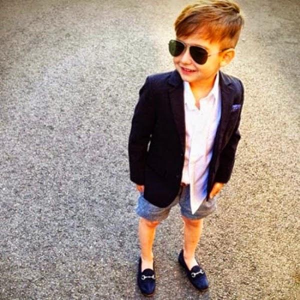 Gambar anak laki-laki termodis di instagram