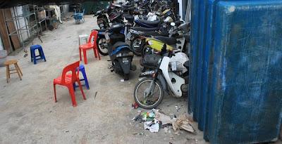 Samseng serang bengkel motosikal