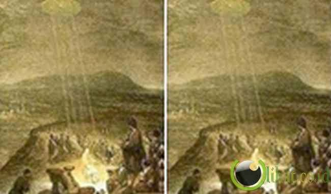 UFO di Lukisan - The Baptism of Christ