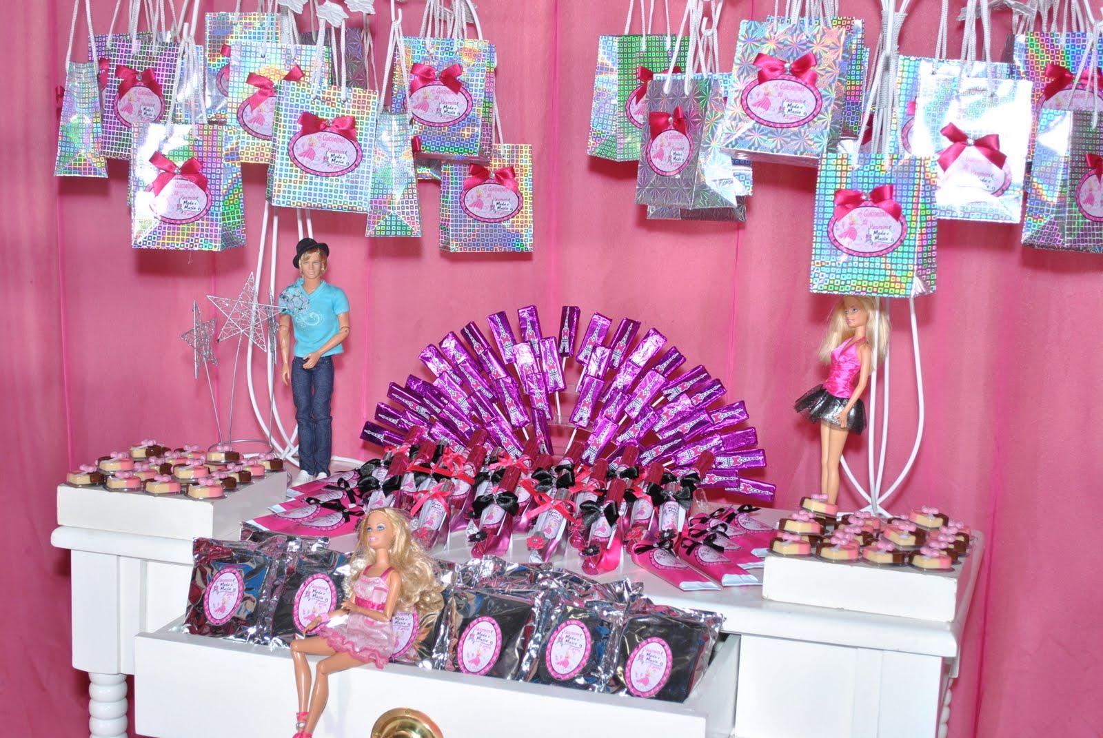 """Decoração Yasmim ~ Galeria de Sonhos Festas infantis Yasmim em""""Barbie Moda e Magia"""""""