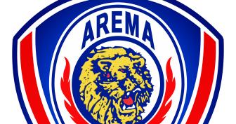 Logo Vector Arema Indonesia Cronous Blog Stok Gambar