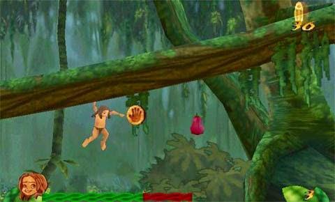 صور من داخل لعبة طرزان Tarzan القديمة