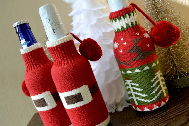 ugly christmas sweater, ugly christmas sweater drink cover,