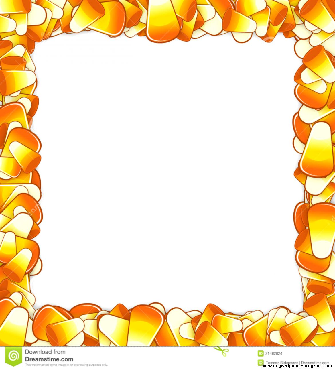 Candy Border Clipart   Clipart Kid
