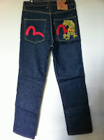 evisu gold tiger size 30