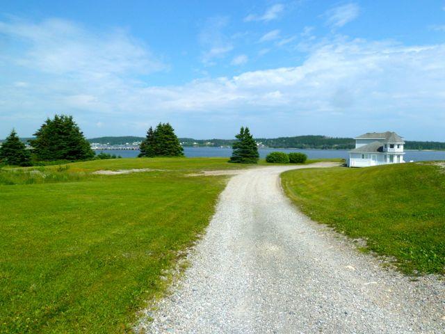 Our Journey Arrival Louisbourg Cape Breton Island Nova Scotia