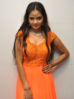 Shreya Vyas glamorous photos in Orange-cover-photo