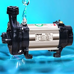 Silver Single Phase Open Well Pump M-30 (1HP) (Copper Rotor) Online Dealers, India - Pumpkart.com