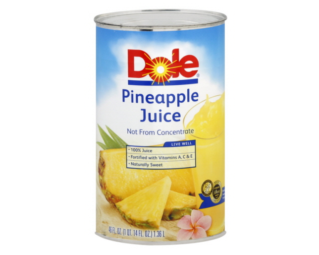 Dole Pineapple Juice Can