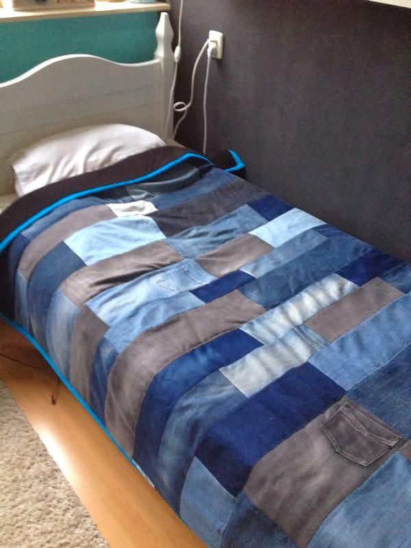 Quilt van jeans