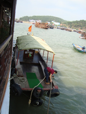 Boat Halong Bay Vietnam