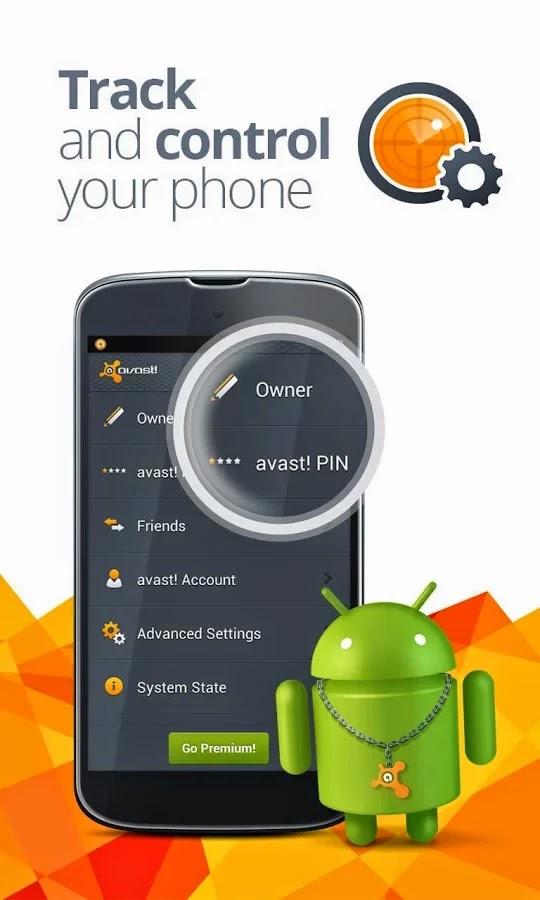 Avast Mobile Security & Antivirus Premium v3.0.7863