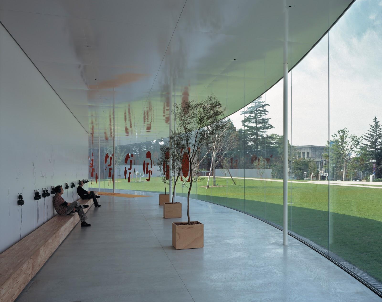 Cl sicos de la arquitectura 21st century museum of - Interni arquitectos ...