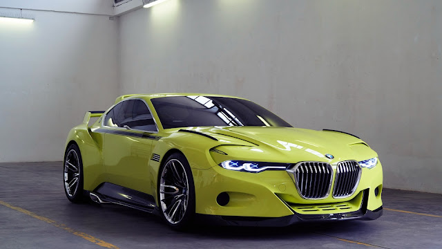 BMW CSL Hommage 2015 Verde