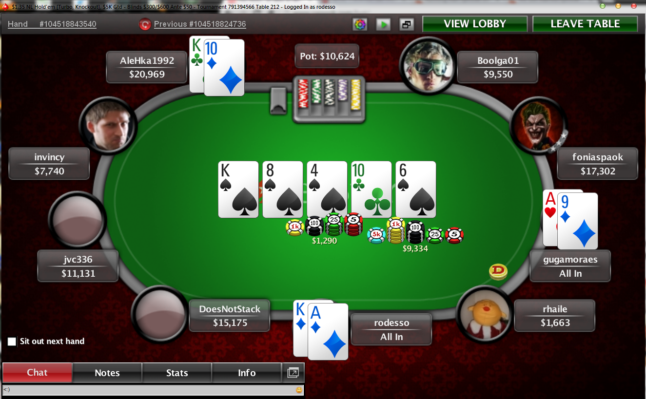 Poker is rigged