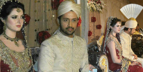 Atif Aslam's wedding with Sarah!