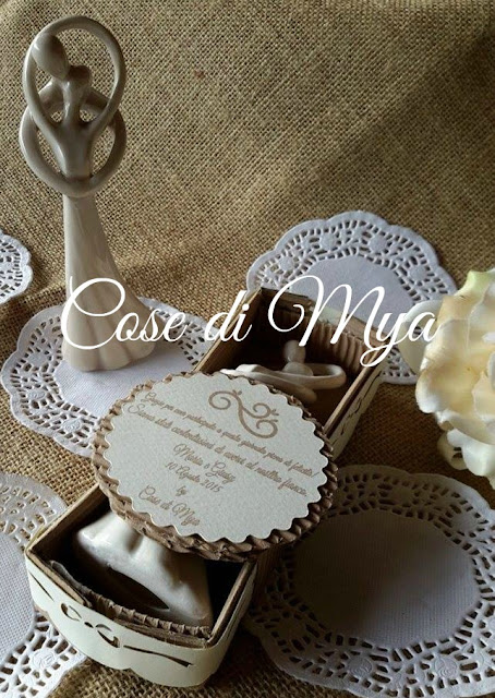 Sposini in ceramica