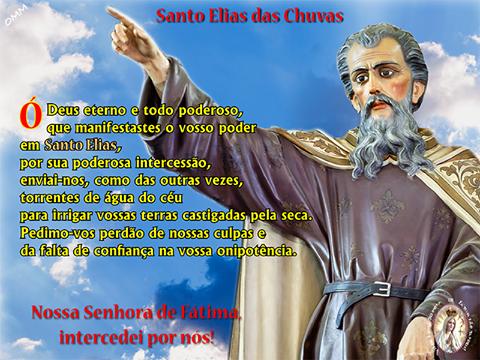 O SANTO DAS CHUVAS