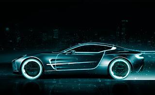 Aston Martin Car Tron Great