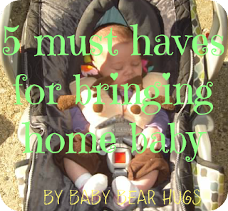 5 must haves when bringing home baby