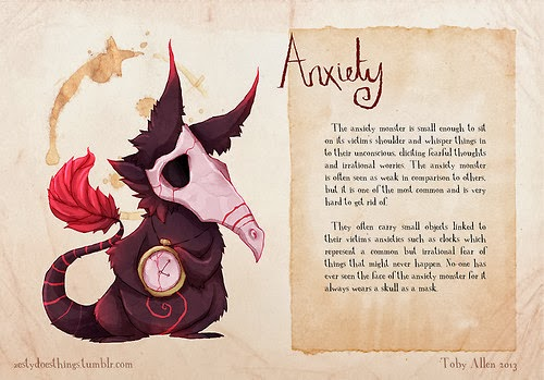 Toby Allen's Real Monsters - Anxiety