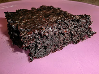 Vegan chocolate zucchini brownies no butter with oil (eggless)