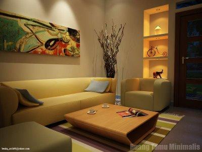 contoh ruang keluarga minimalis browsing gambar