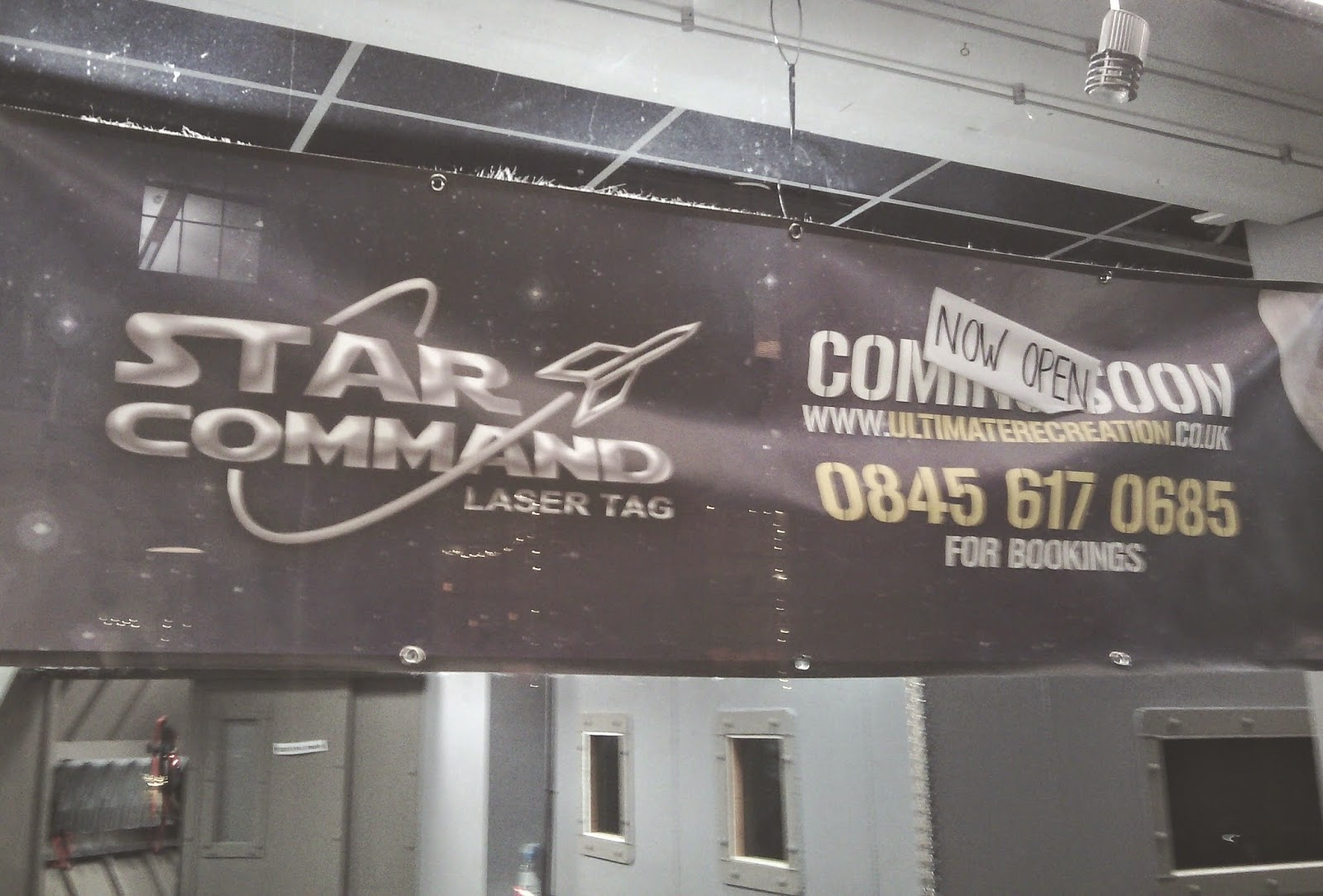 Star Command Laser Tag in London