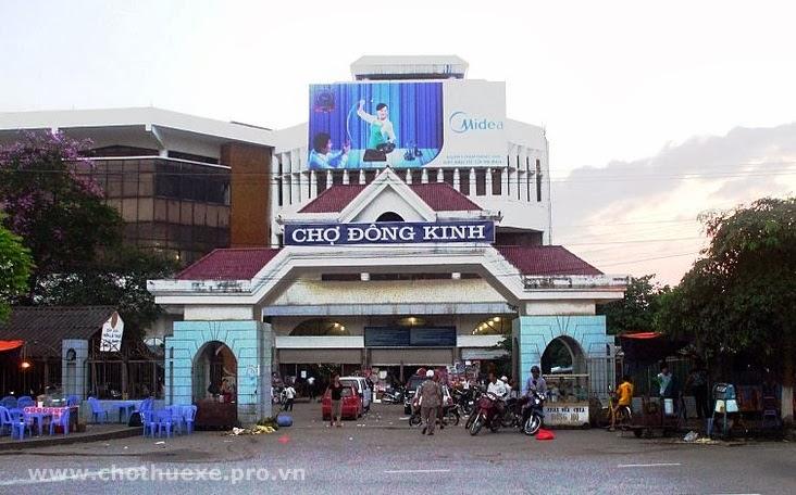 Cho thuê xe đi Lạng Sơn thành phố Lạng Sơn 1