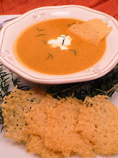 Roasted Sweet Potato Soup: Ms. enPlace