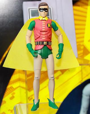 Mattel 2013 Toy Fair Display Pictures - Classic 1960's Batman figures - Robin