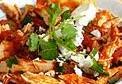 chilaquiles de pollo, chilaquiles con pollo, nachos con pollo, nachos, receta de chilaquiles, como se hacen los chilaquiles, como hacer chilaquiles, recetas de chilaquiles, tortillas fritas con pollo