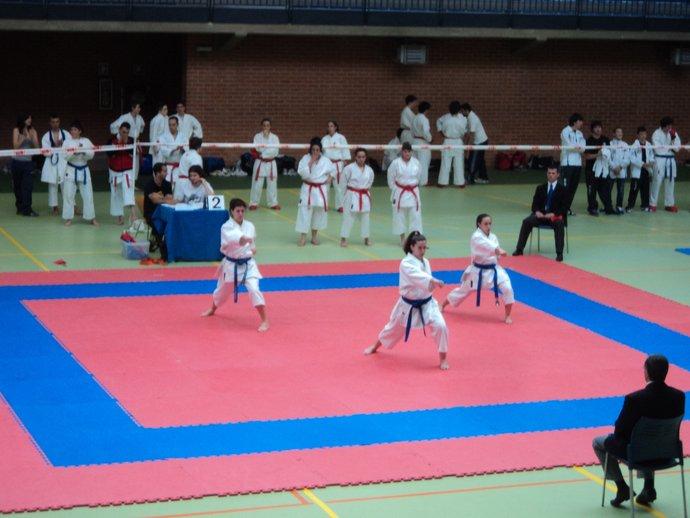 Santa teresa karate cr nica campeonato de euskadi de clubes for Gimnasio nagusia