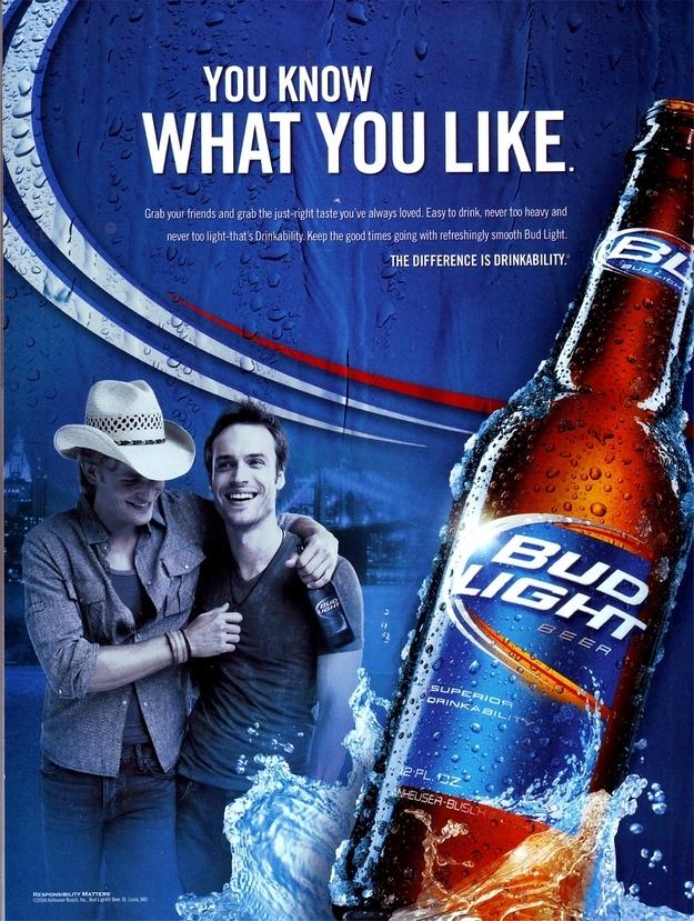 Gay bud light advertisements