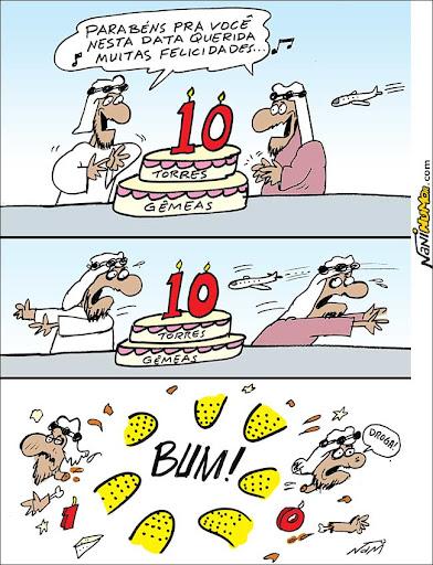 Al Qaeda comemora os dez anos do 11 de setembro