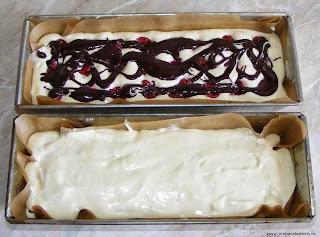 preparare chec pufos cu visine si cacao, preparare dulciuri si prajituri de casa, retete culinare,