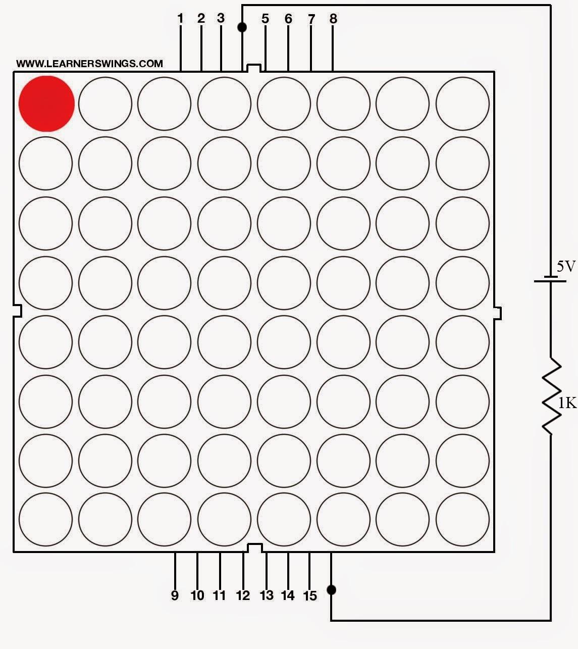 8 8 led matrix