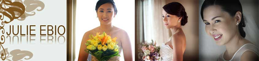 Julie Ebio - Bridal Hair and Make-up Artist in Metro Manila