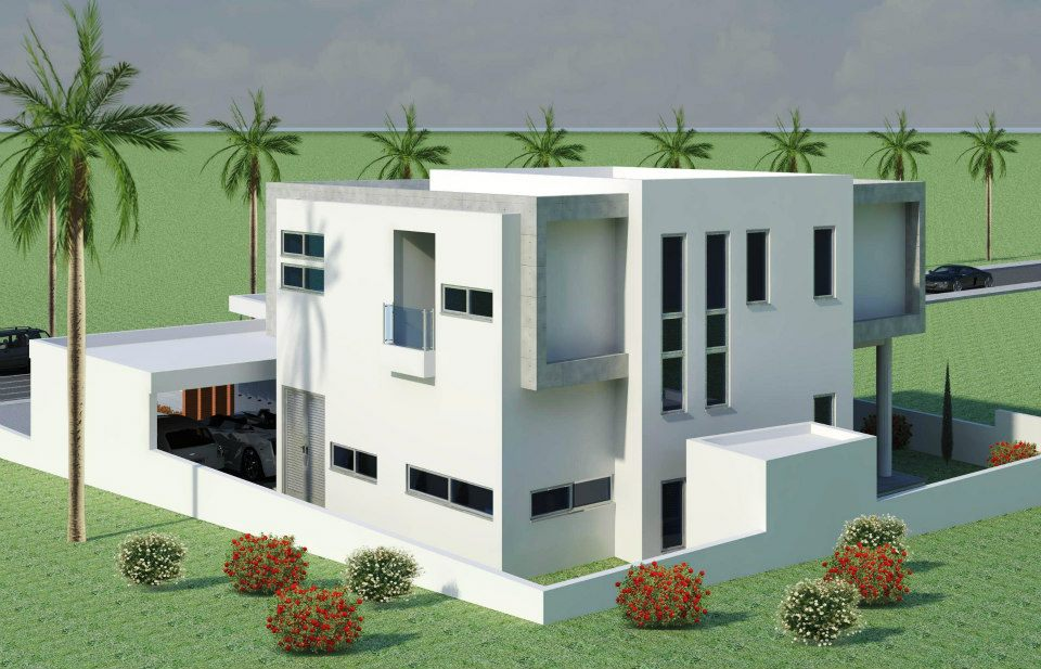 Rumah rumah minimalis modern beautiful home exterior for Modern exterior design ideas