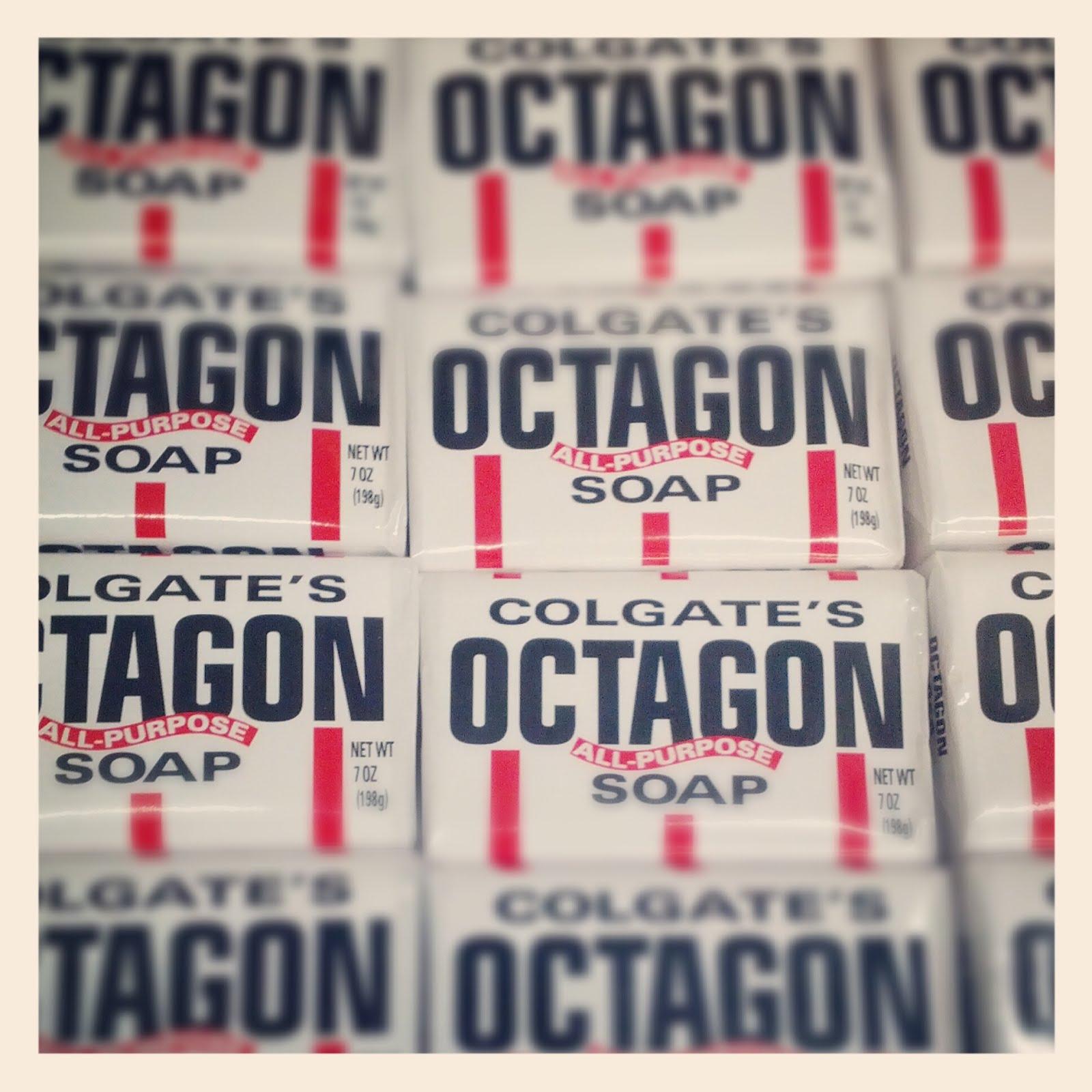 Octagon soap acne