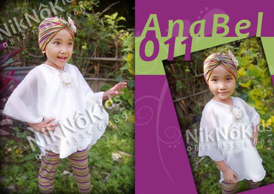 Niknokids Baju Muslim Anak Gamis Anak