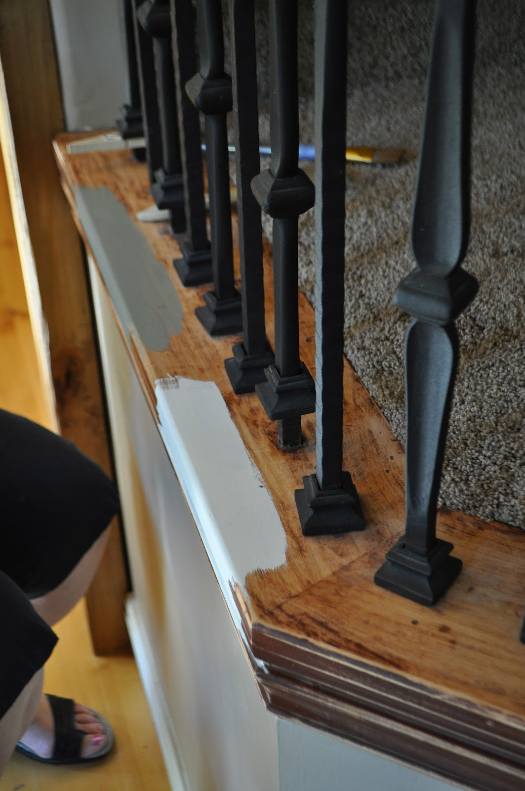 Stair Makeover With Annie Sloan Paint