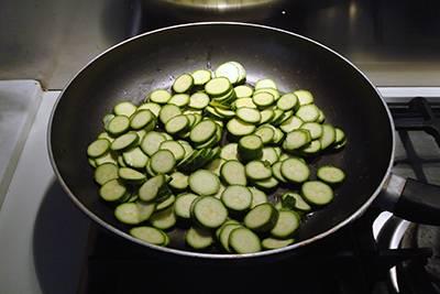 Pasta zucchine e gorgonzola 2