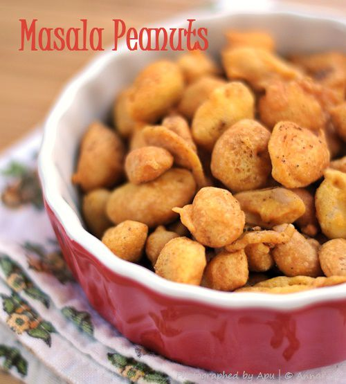 Masala Moongphali | Batter Fried Peanuts