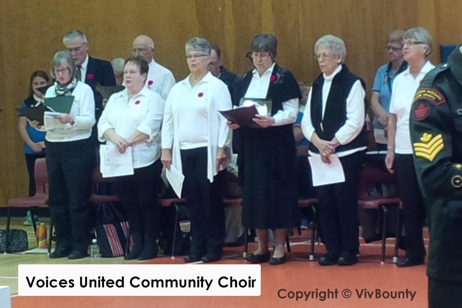 Voices United Choir, VivBounty