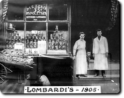 Lostpastremembered history of pizza and robiola for American cuisine in nyc